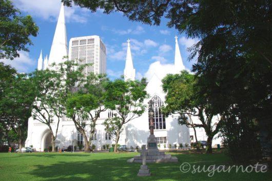 シンガポール市内, St Andrew's Cathedral, セント・アンドリュース大聖堂