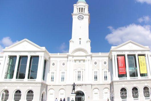 シンガポール市内, Victoria Theater Concert Hall(ビクトリア・シアター&コンサート・ホール)
