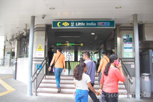 シンガポール市内 Little India駅