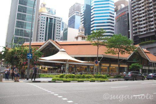 Singapore, Lau Pa Sat, シンガポール, ラオ・パ・サ
