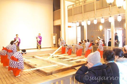 草津, 熱の湯, Kusatsu, Netsu-no-yu, Yumomi-show, 湯もみショー