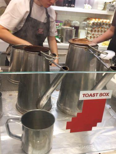 Toast Box, トーストボックス, コピ