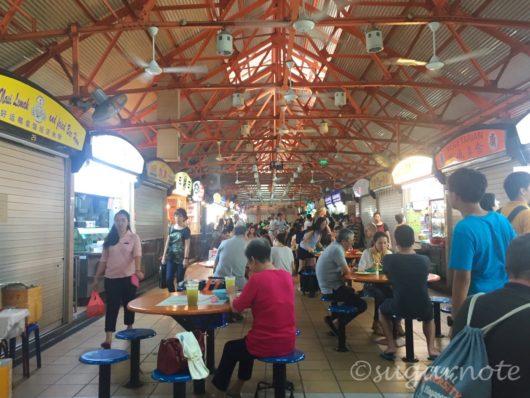 Singapore, Maxwell Food Centre、シンガポール, マックスウェル・フードセンター