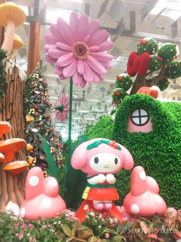 CHANGI'S MYSTICAL GARDEN with SANRIO CHARACTERS, チャンギ国際空港, サンリオキャラクター, ミスティカルガーデン