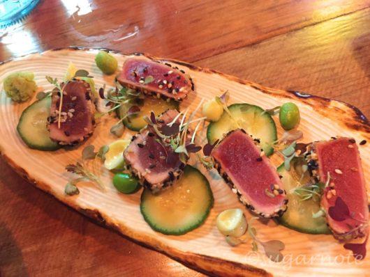 Bar wa Izakaya, Bluefin Tuna Tataki