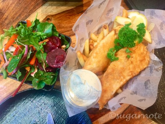 Mures Tasmania Lower Deck」Fish & Chips