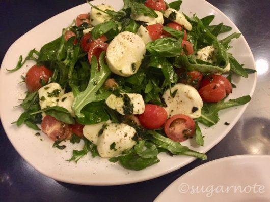 Da Angelo Restaurant, Bocconcini salad, Insalate Caprese