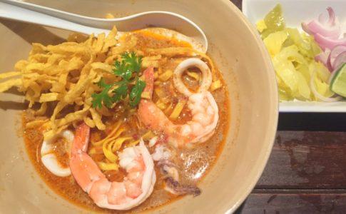 Seafood Kao Soy, Kai Soy Nimman, 海鮮カオソーイ