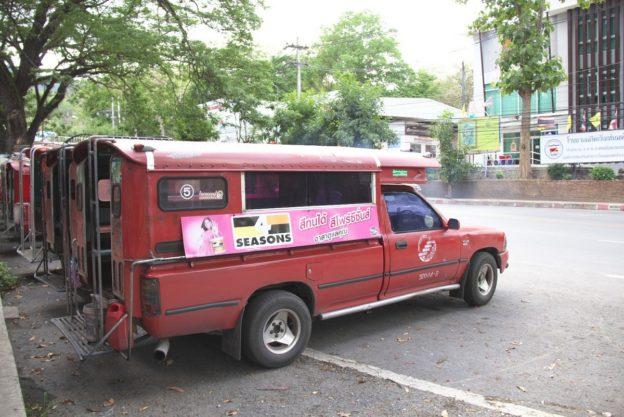 ソンテウ(ソンテオ), Songthaew, Chiang Mai