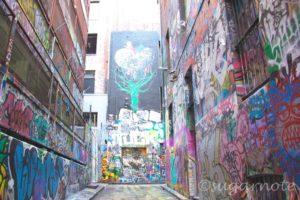 Melbourne Street Art Hoiser Lane