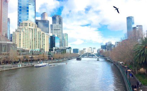 Melbourne, Yarra River,