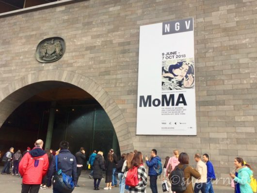 MoMa at NGV, National Gallery of Victoria, ニューヨーク近代美術館展