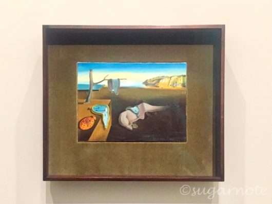 MoMa at NGV, National Gallery of Victoria, ニューヨーク近代美術館展, The persistence of memory, Salvador Dali,