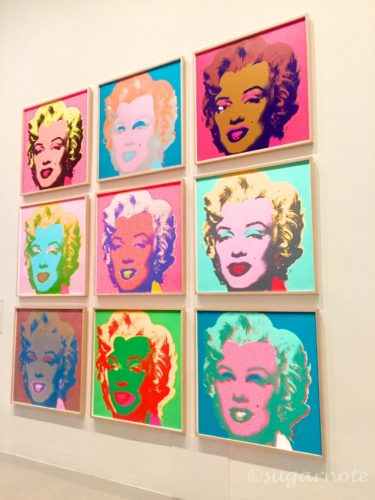 MoMa at NGV, National Gallery of Victoria, ニューヨーク近代美術館展, Marilyn Monroe, Andy Warhol,