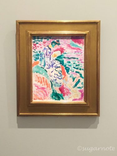 MoMa at NGV, National Gallery of Victoria, ニューヨーク近代美術館展, Henri Matisse, La Japonaise Woman beside the water,