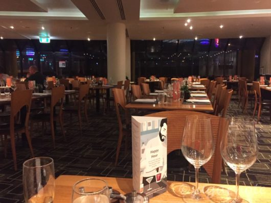 Melbourne Crown Plaza Hotel, Clarendon Grill, メルボルン・クラウンプラザホテル