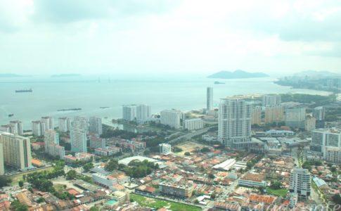 Malaysia, Penang, Komtar, マレーシアペナン島