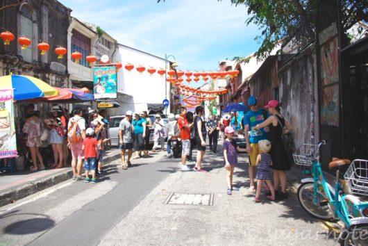 マレーシアペナン島, 世界遺産ジョージタウン, ストリートアート, Malaysia, Penang
