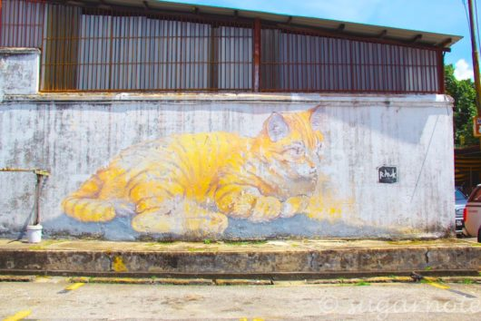 101 Lost Kittens Project, Skippy, Malaysia, Penang, World Heritage, George Town, Street Art, マレーシアペナン島, 世界遺産ジョージタウン, ストリートアート,