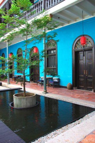 ブルーマンション, The Blue Mansion, ˆCheong Fatt Tze Mansion, チョン・ファッ・ツィー・マンション