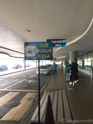 Penang International Airport, Taxi Stop, ペナン国際空港, タクシー乗り場