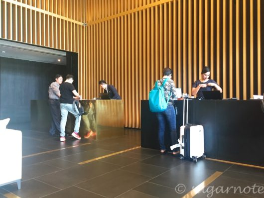 Front Desk, G Hotel Kelawai, Penang, Gホテルケラワイフロントデスク, ペナン島, マレーシア