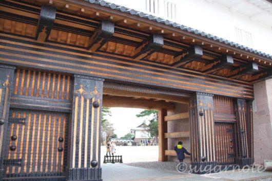 橋爪門二の門, 金沢城公園, Kanazawa Castle Park、Ni-no-mon Gate at Hashizume-mon Gate