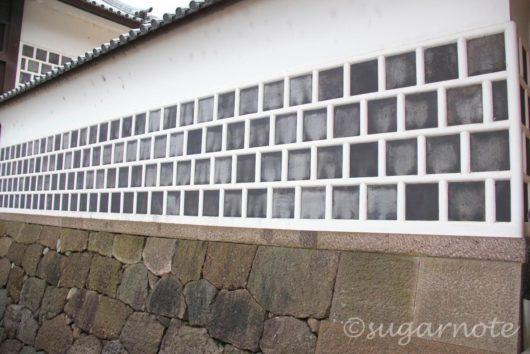 金沢城公園, Kanazawa Castle Park, なまこ壁, Sea Cucumber Wall