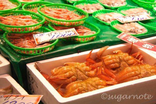近江町市場, Omi-cho Market, 蟹, Crubs