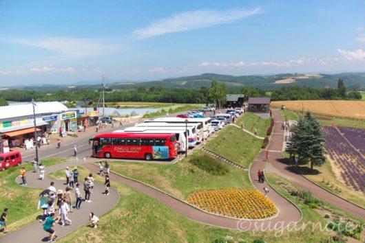 美瑛町, Biei-Cho, 北西の丘展望公園