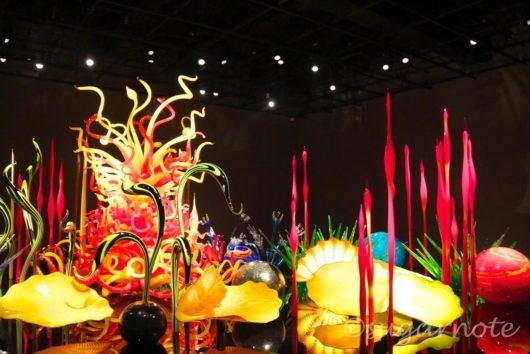 Toyama Glass Art Museum, 富山市ガラス美術館, トヤマ・ミルフィオリ, Toyama Mille Fiori, Dale Chihuly, デイル・チフーリ