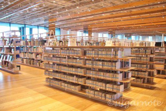 富山市ガラス美術館, Toyama Glass Art Museum, 図書館, Library
