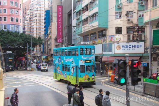 香港, 香港島, トラム, Tram, Hong Kong, Hong Kong Island