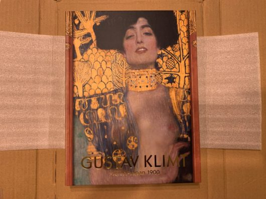Gustav Klimt exhibition book, クリムト展図録