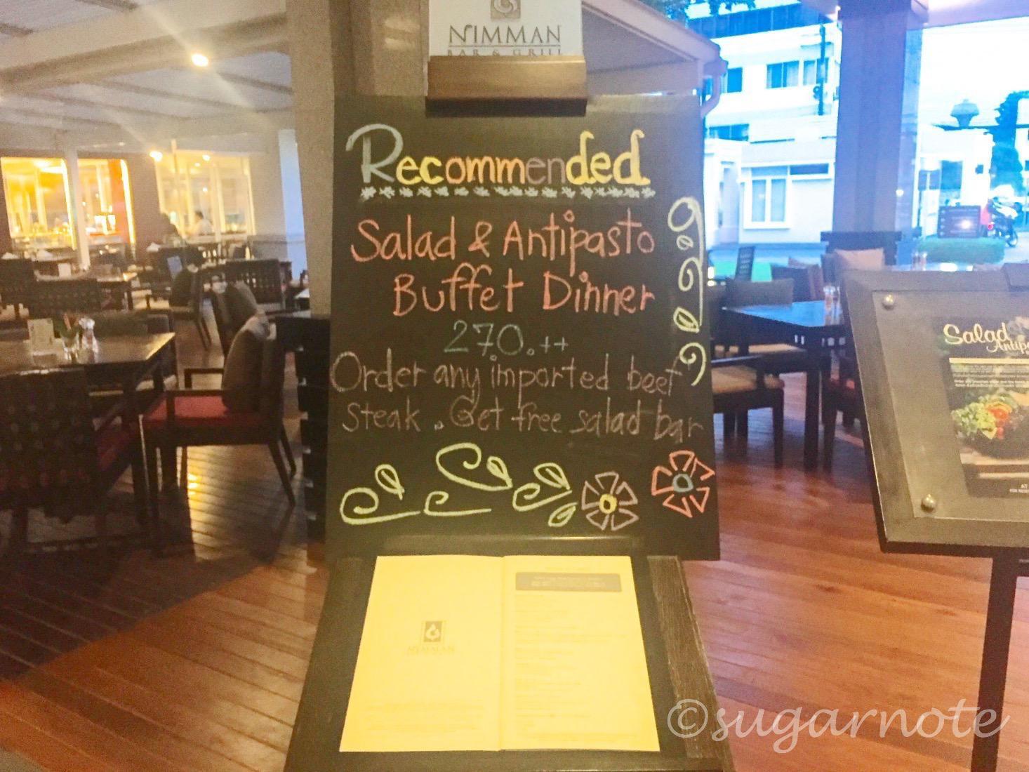 ニーマン・バー&グリル, Nimman Bar & Grill