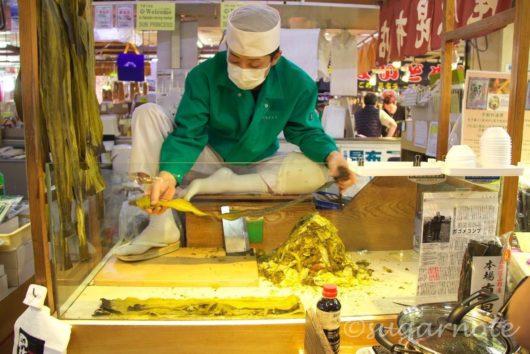 函館朝市, Hakodate Morning Market, とろろ昆布