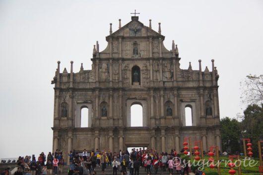 聖ポール天主堂跡, Ruins of St. Paul's