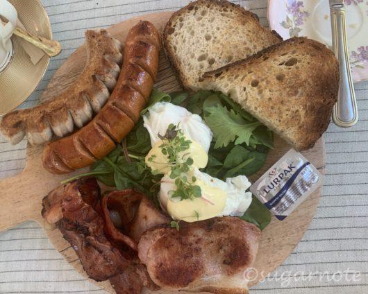 Bon appeTea Breakfast Plank