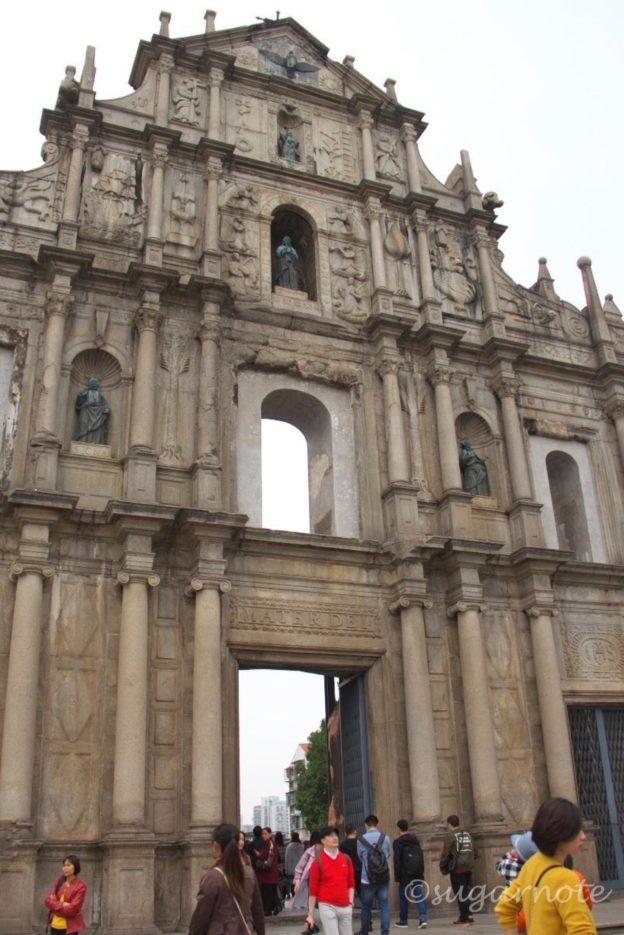 Ruins of St. Paul's, 聖ポール天主堂跡