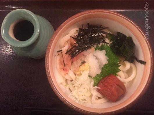 杵屋札幌駅パセオ店, 紀州の梅おろし冷やしうどん, Kine-Ya, Udon