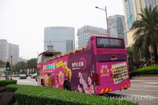 Macau Open Top Bus, マカオ・オープントップバス