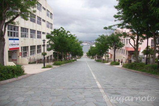 函館元町、Hakodate Moto-Machi, Hachimanzaka、八幡坂
