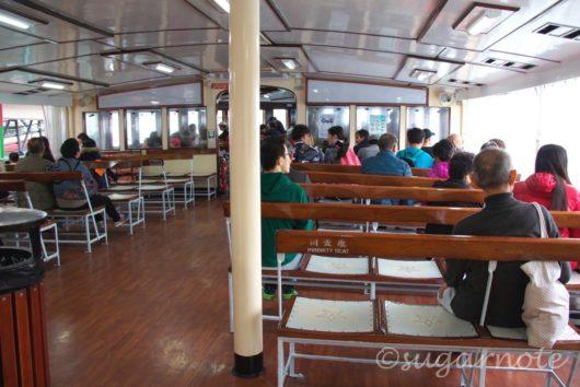 スターフェリー船内2階席, Star Ferry