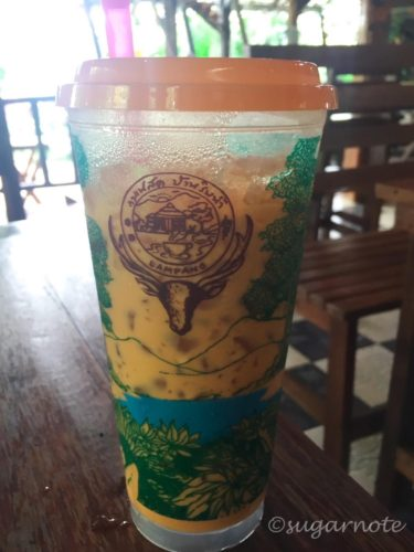 Cafe near Lampang, タイアイスティー, Thai Iced Tea