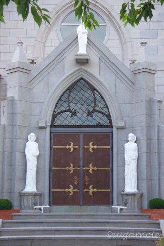函館元町、カトリック元町教会、Hakodate Moto-Machi, Church