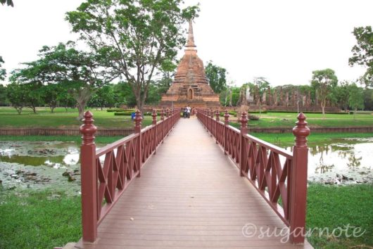 スコータイ歴史公園, Sukhothai Historical Park, ワット・スラ・シー, Wat Sra Sri