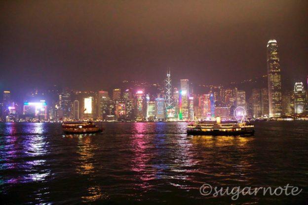 香港シンフォニー・オブ・ライツ, Hong Kong A Symphony of Lights