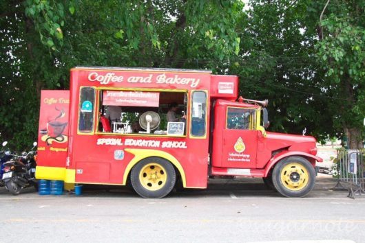Coffee and Bakery Truck for Special Education School, Phitsanulok