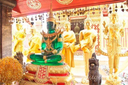 ワット・プラ・タート・ドイ・ステープ, Wat Phra That Doi Suthep, ヒスイ仏陀
