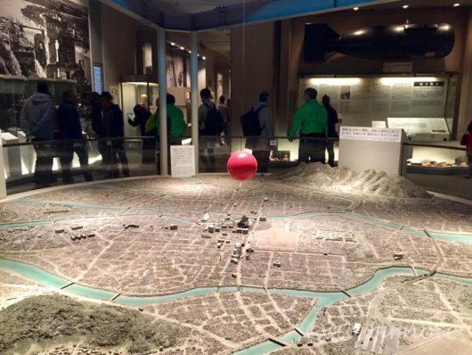 広島平和記念資料館, Hiroshima Peace Memorial Museum, パノラマ模型